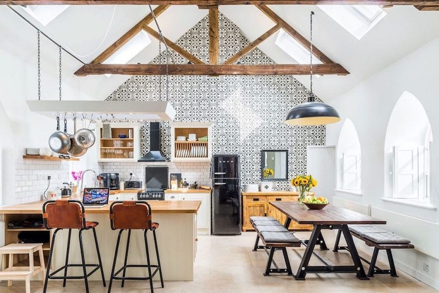 Interior Design Of Converted English Church