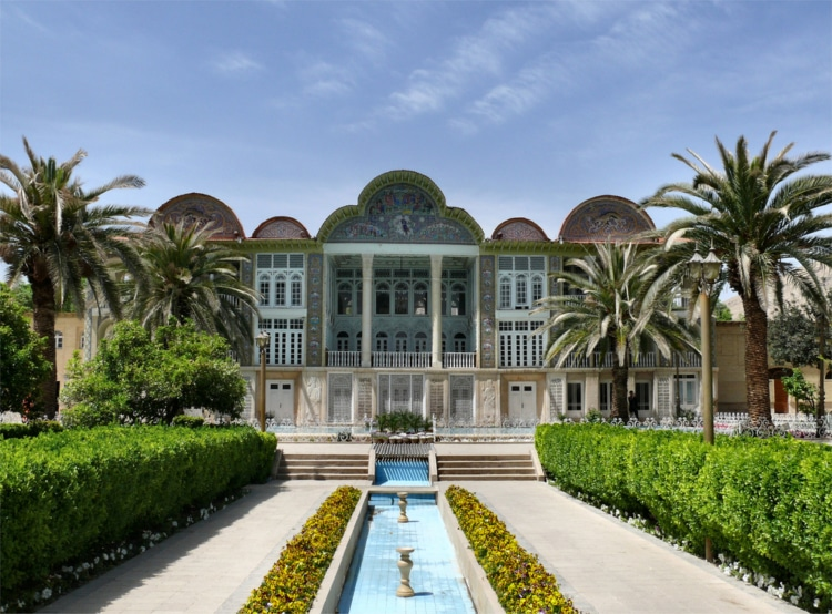 Eram Palace and Gardens Spectacular architecture Iran