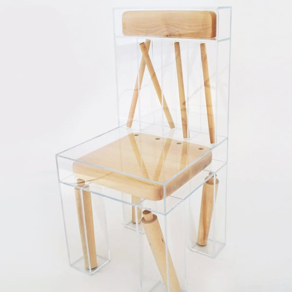 deconstructed furniture design