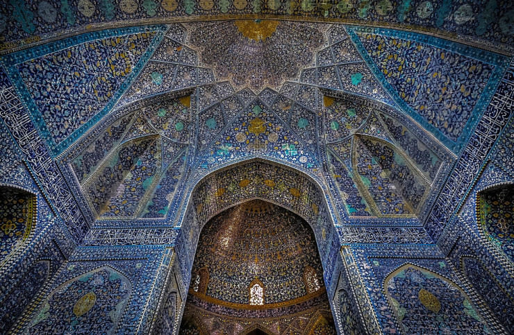 jameh mosque iran architecture