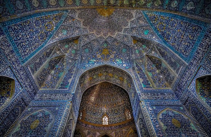 jameh mosque iran architecture