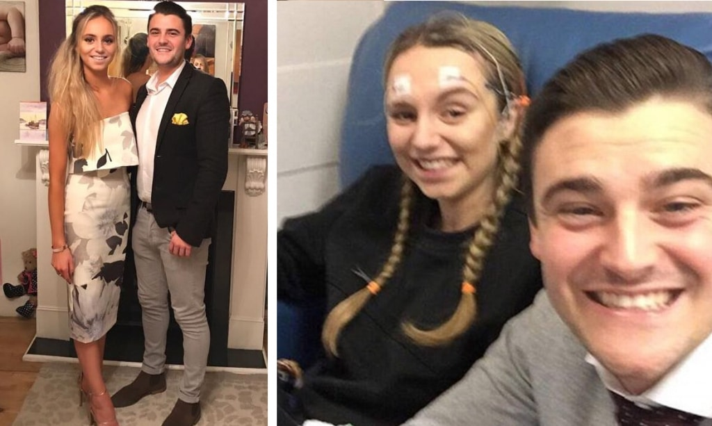 Jessica Sharman Rich Bishop girlfriend gets amnesia