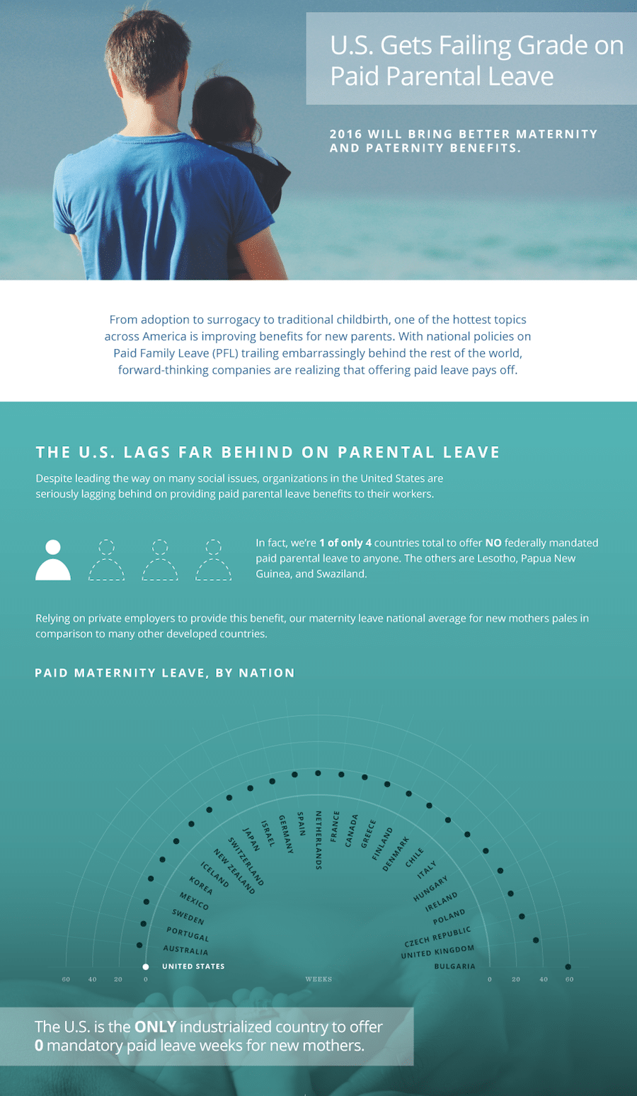 maternity leave infographic chart