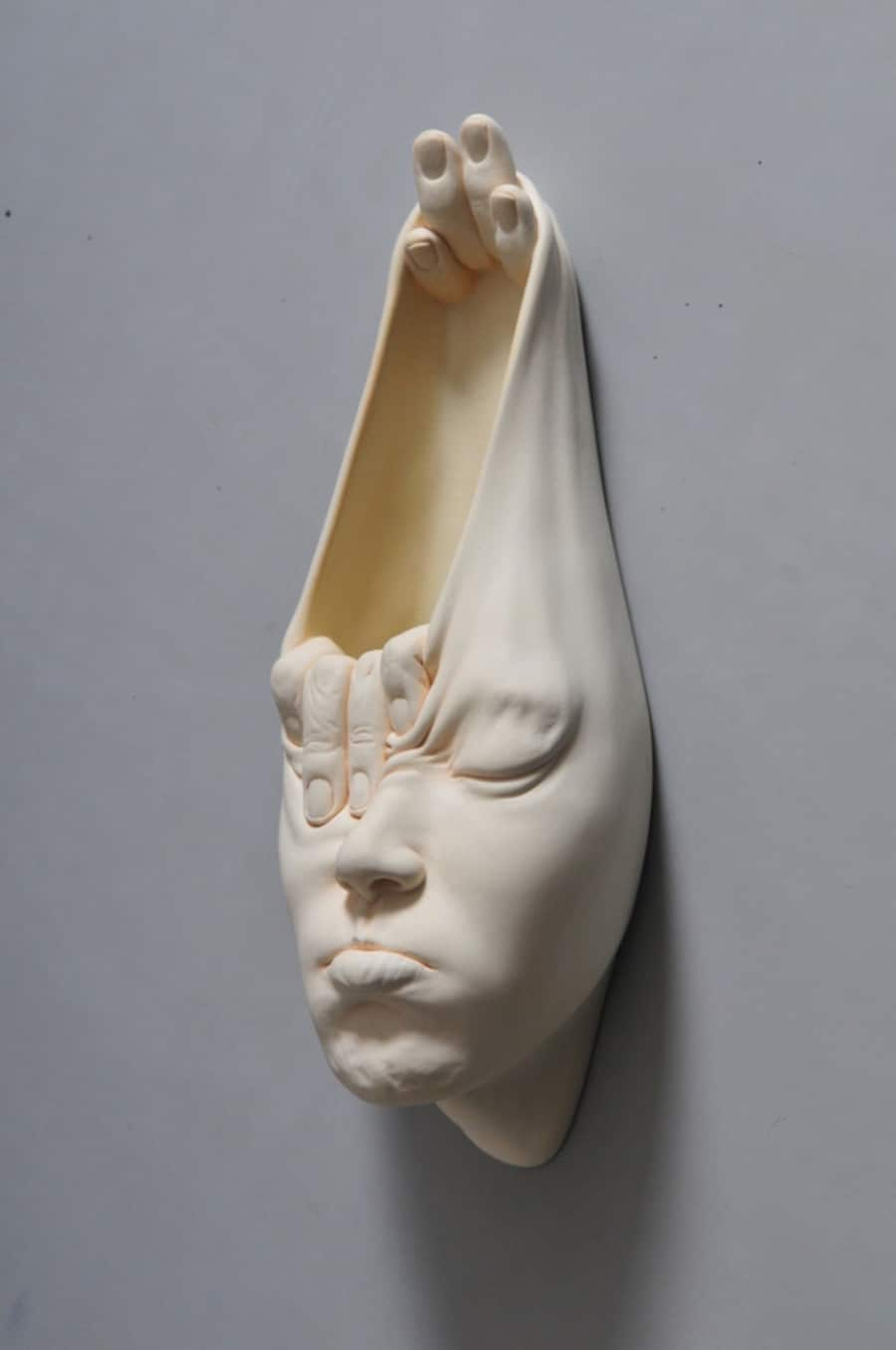 johnson tsang surreal sculpture in porcelain
