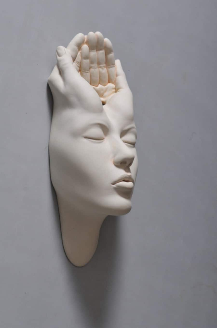 johnson tsang surreal porcelain sculpture