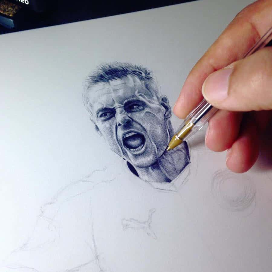Jordy B Art pen drawing tutorials