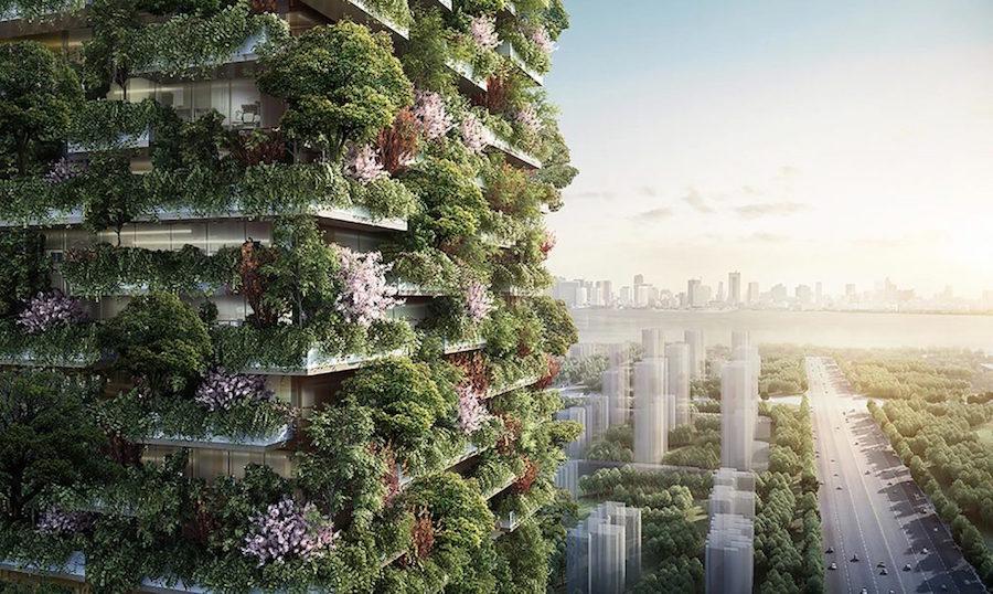 stefano boeri green skyscraper vertical forest nanjing