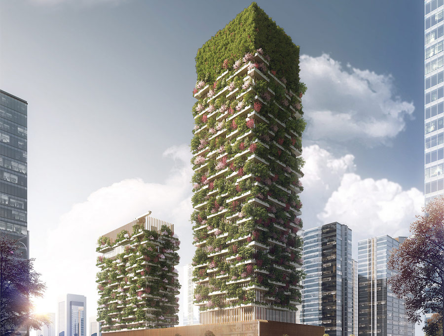 stefano boeri skyscraper forest contemporary architecture