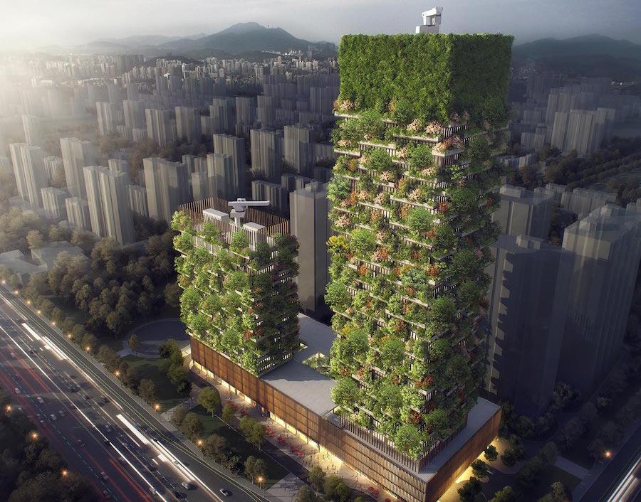 stefano boeri vertical forest nanjing