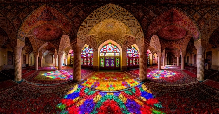 nasir al mul mosque historical buildings iran