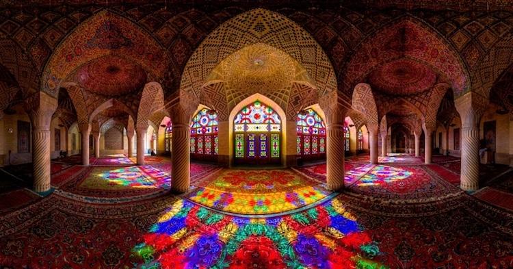 nasir al mul mosque historical buildings iran