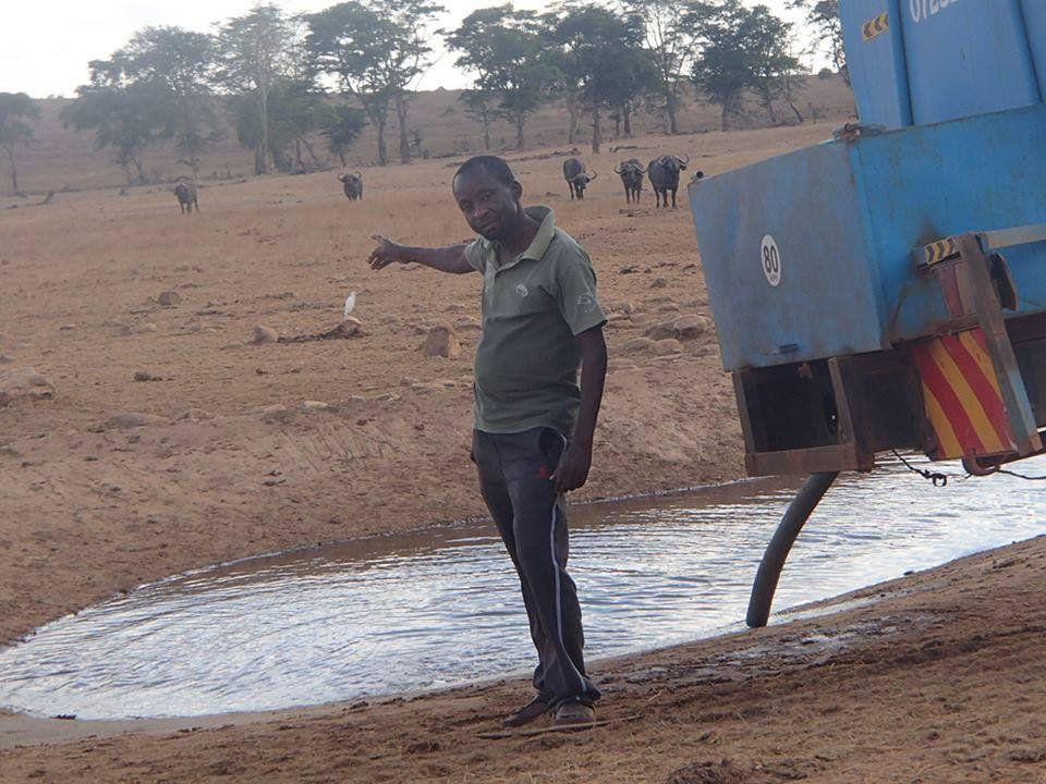 Patrick Kilonzo Mwalua water trucks for animals