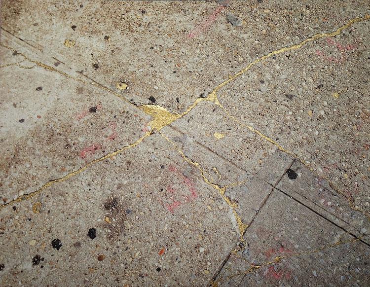 Sidewalk Kintsukuroi Rachel Sussman
