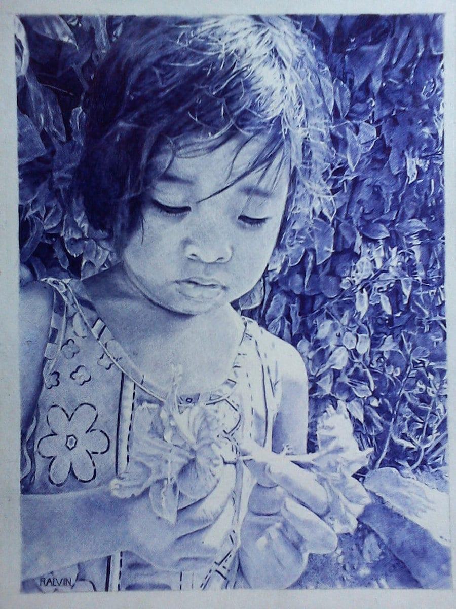 Ralvin Dizon Ballpoint Pen Art