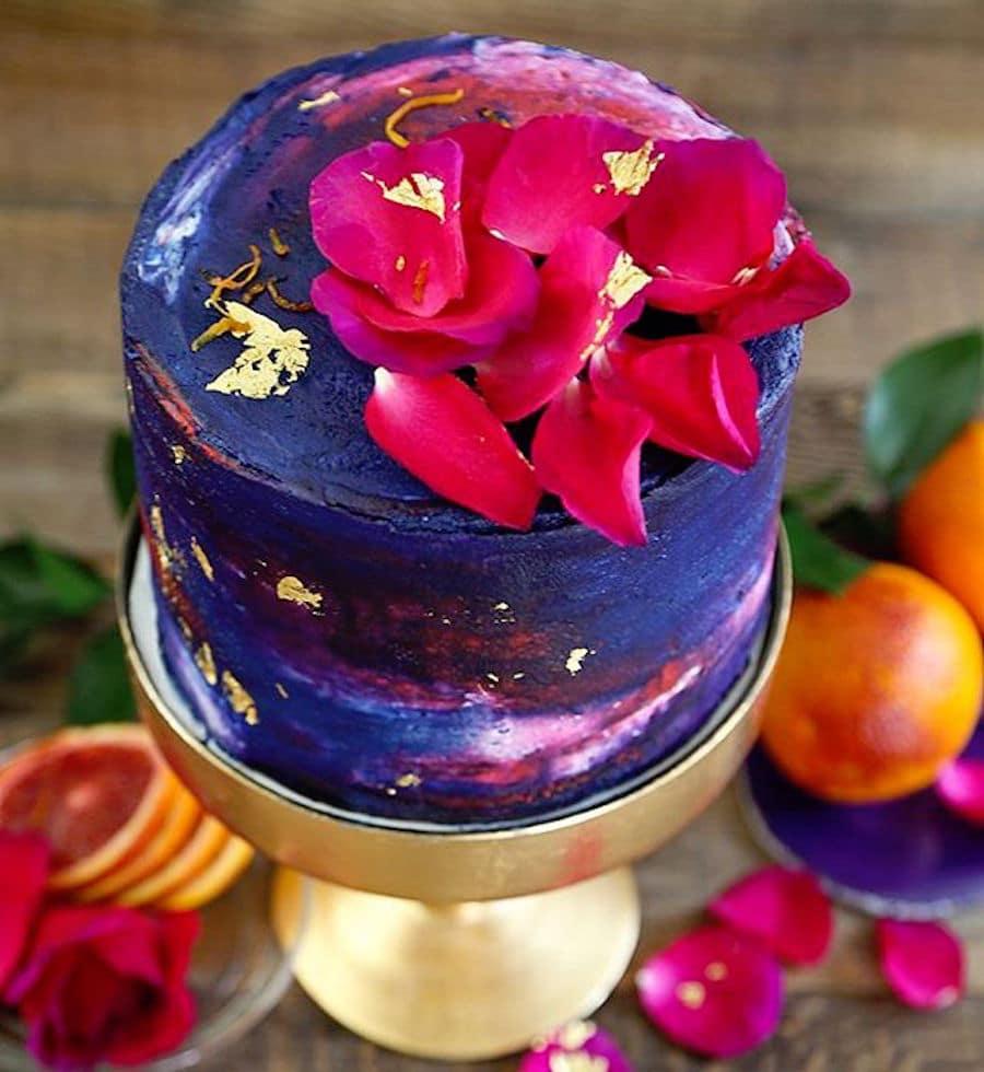 colorful cake sprinkle bakes