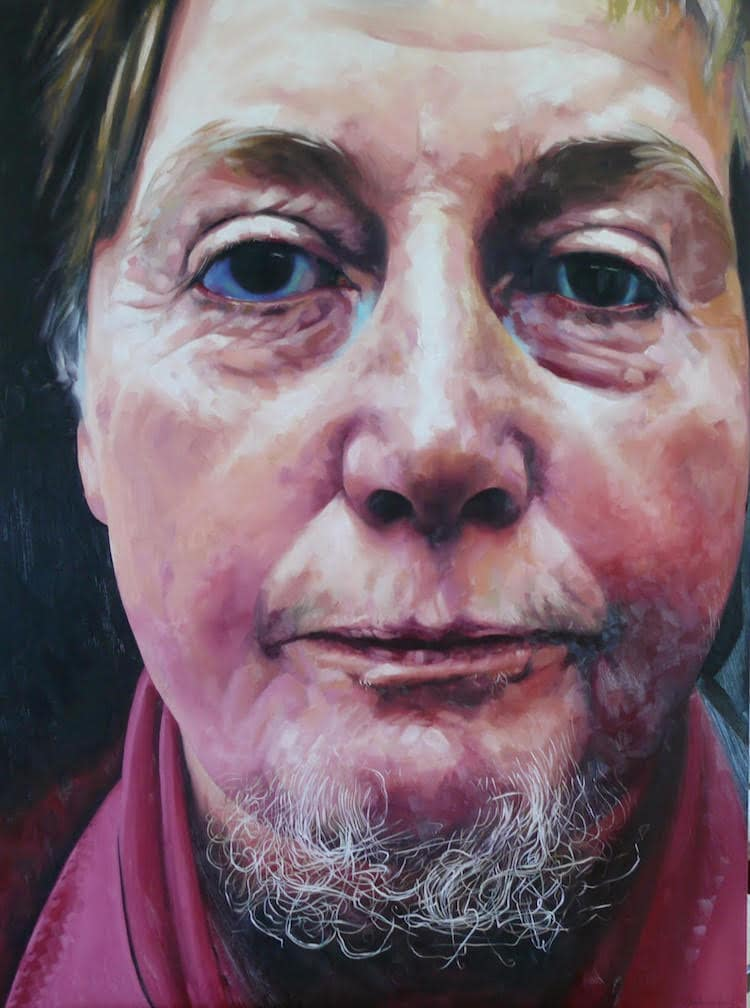 portrait painting stephen martyn welch