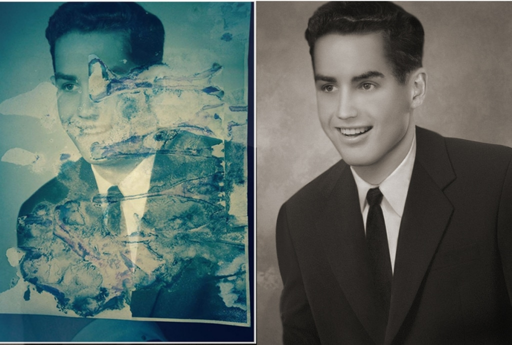 Tetyana Dyachenko Restored Vintage Photos digital restoration photography photoshop