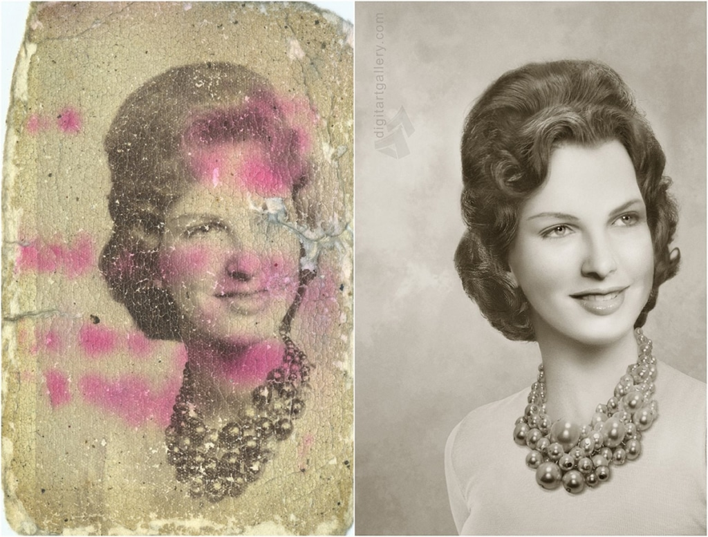 Tetyana Dyachenko Restored Vintage Photos digital restoration photography photoshop