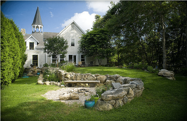 Massachusetts Converted Church Home