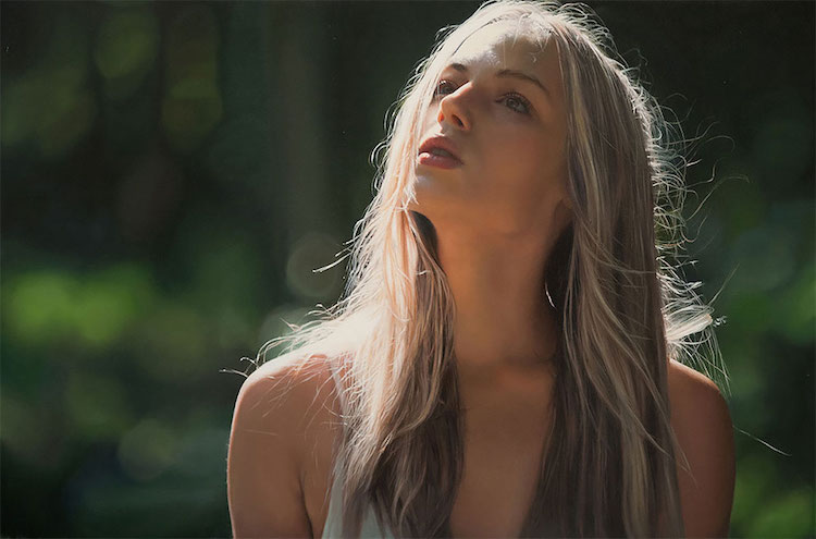 yigal ozeri photorealistic art