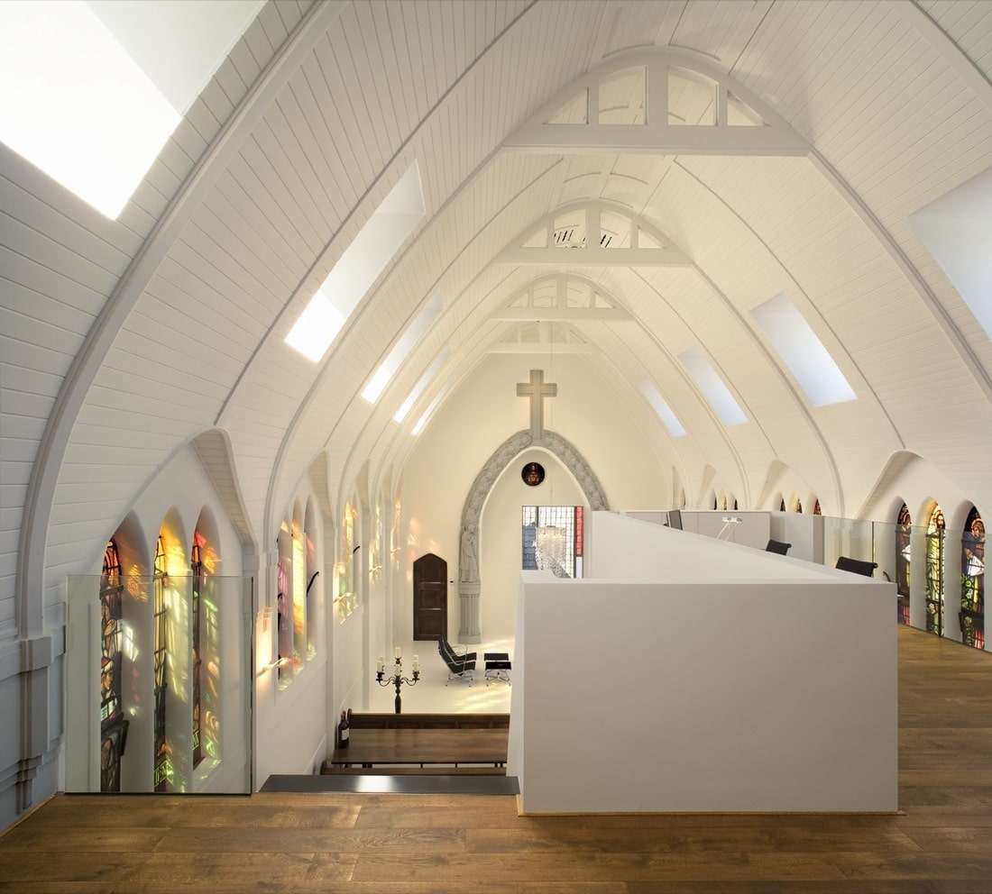 Architectural Features Of Converted Church Home