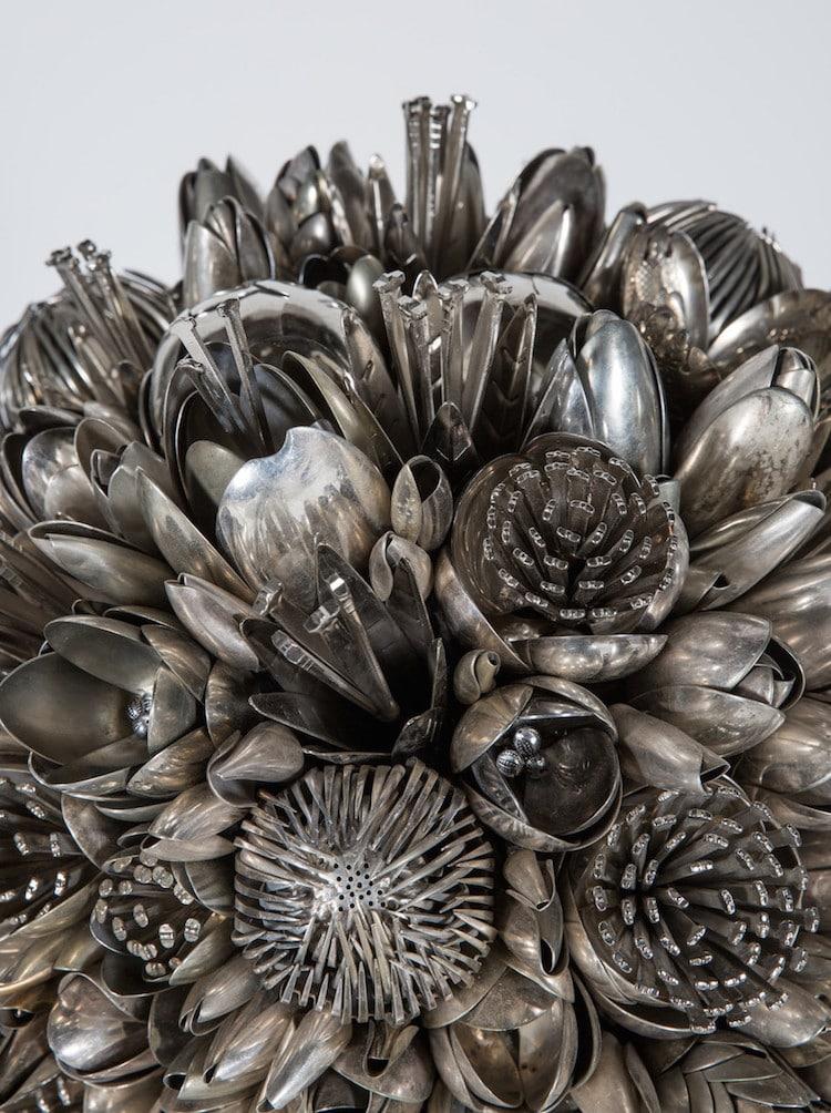 Utensil Bouquets Present Silverware As Floral Arrangements