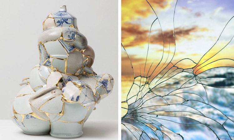 Artistic Repairs Creatively Give New Life To Broken Objects