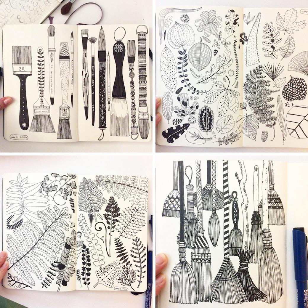 Beautiful Sketchbooks by Heegyum Kim