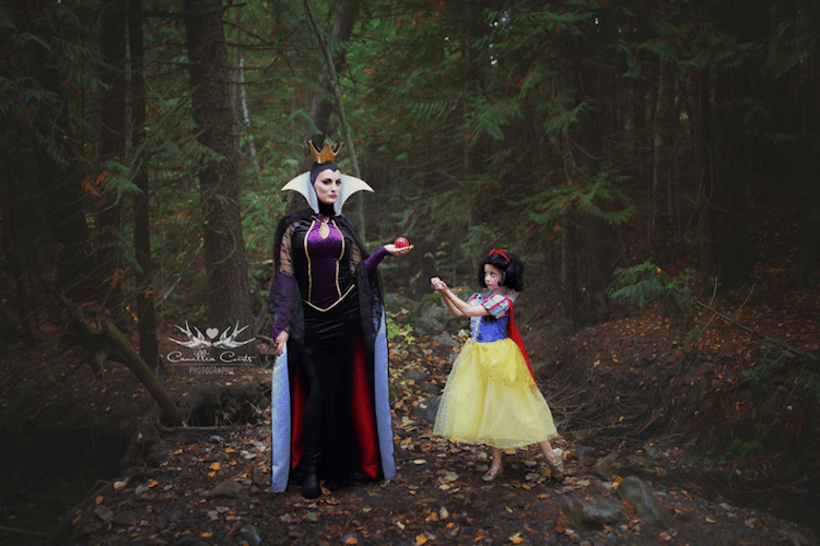 snow white evil queen camillia courts the magical world of princesses disney princess photo shoot dress up