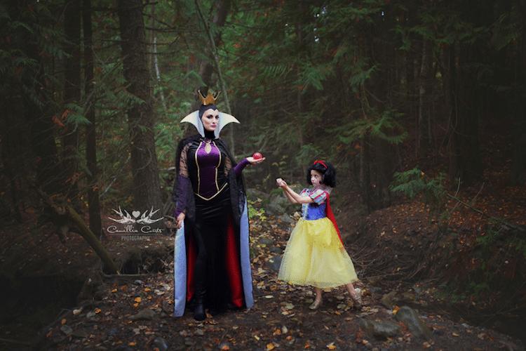 snow white evil queen camillia courts the magical world of princesses disney princess photo shoot dress up