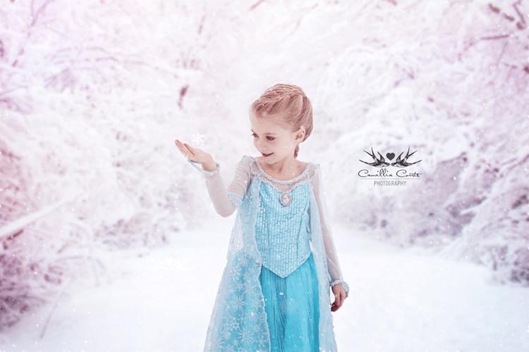 elsa camillia courts the magical world of princesses disney princess photo shoot dress up