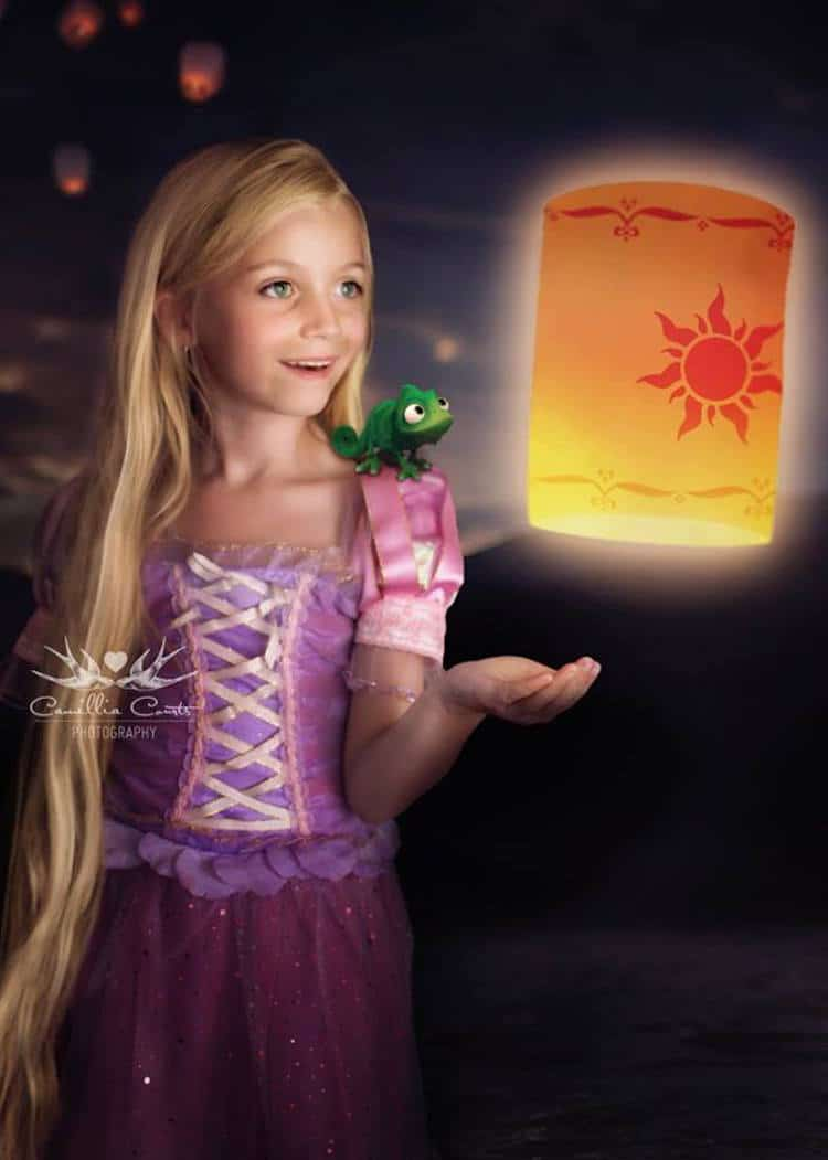 rapunzel camillia courts the magical world of princesses disney princess photo shoot dress up