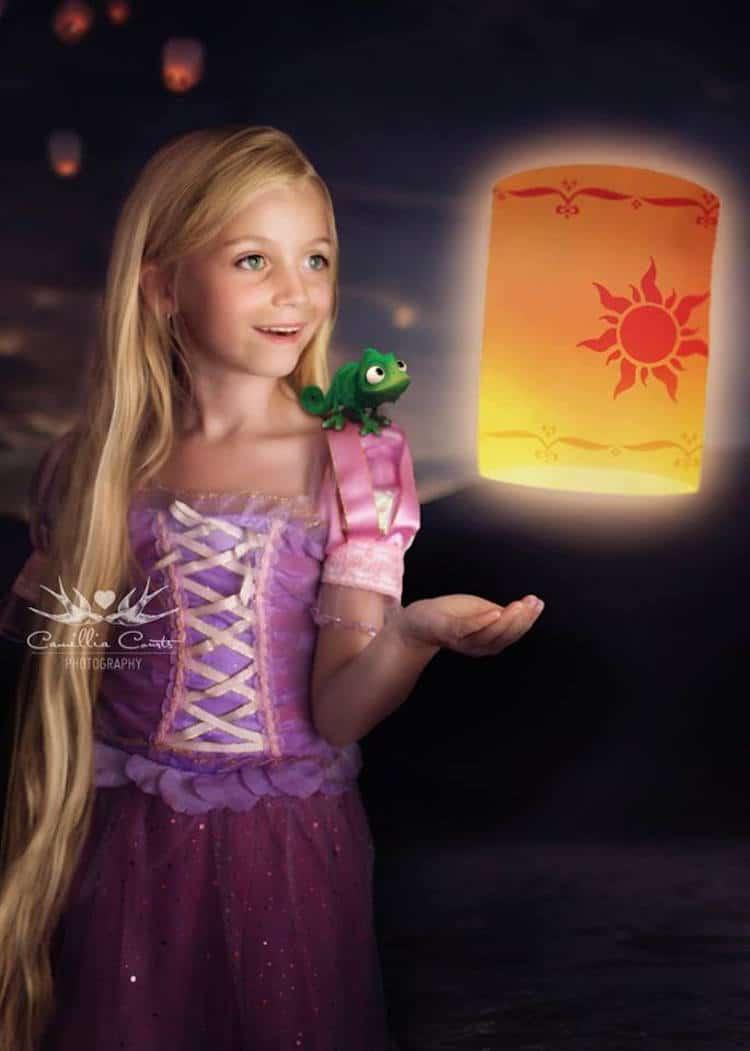 rapunzel camillia courts the magical world of princesses disney princess photo shoot dress up