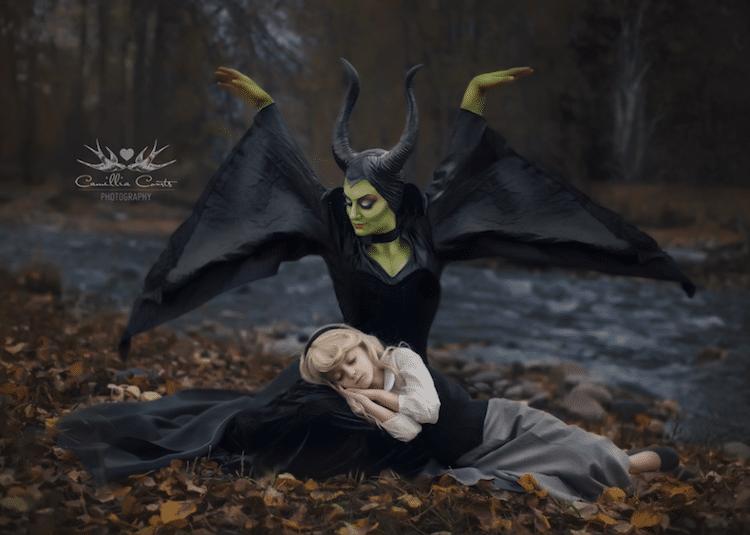 sleeping beauty maleficent camillia courts the magical world of princesses disney princess photo shoot dress up