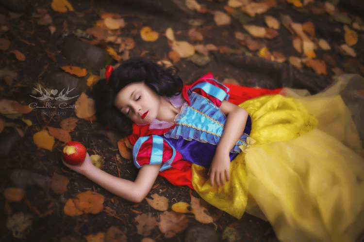 snow white camillia courts the magical world of princesses disney princess photo shoot dress up