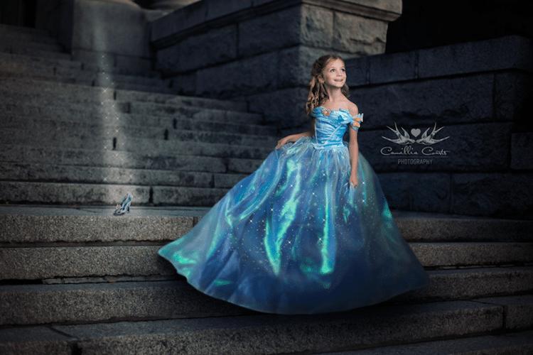 cinderella camillia courts the magical world of princesses disney princess photo shoot dress up
