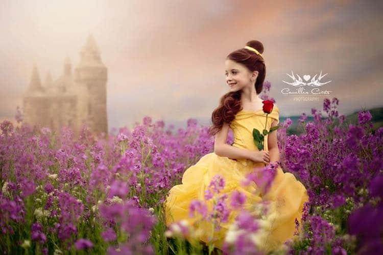 belle camillia courts the magical world of princesses disney princess photo shoot dress up