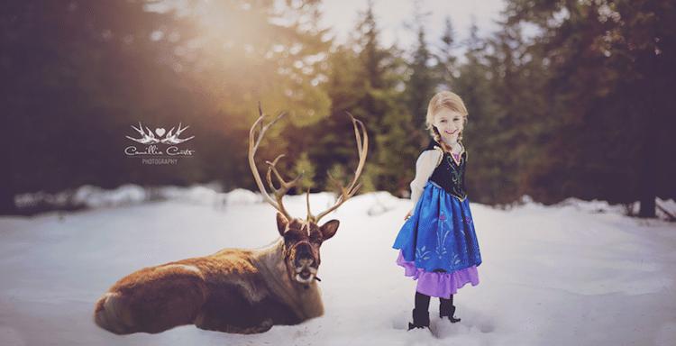anna camillia courts the magical world of princesses disney princess photo shoot dress up