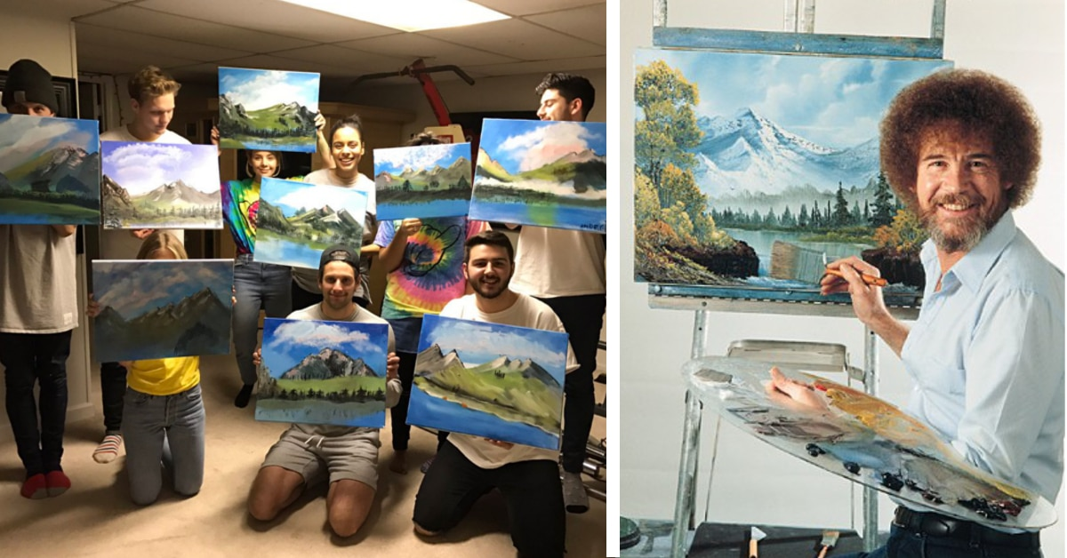 Painting With Bob Ross Supplies