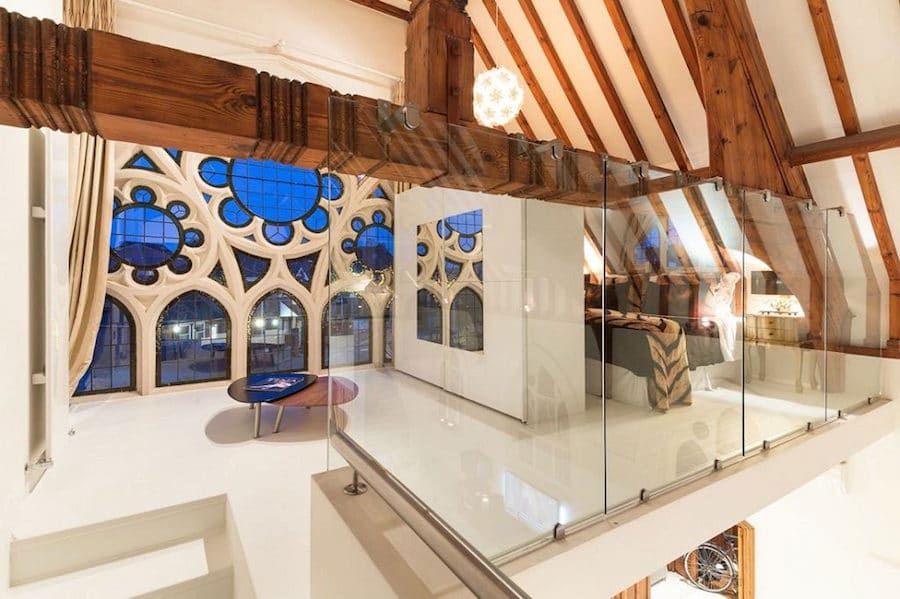 Penthouse Concept Of English Converted Church