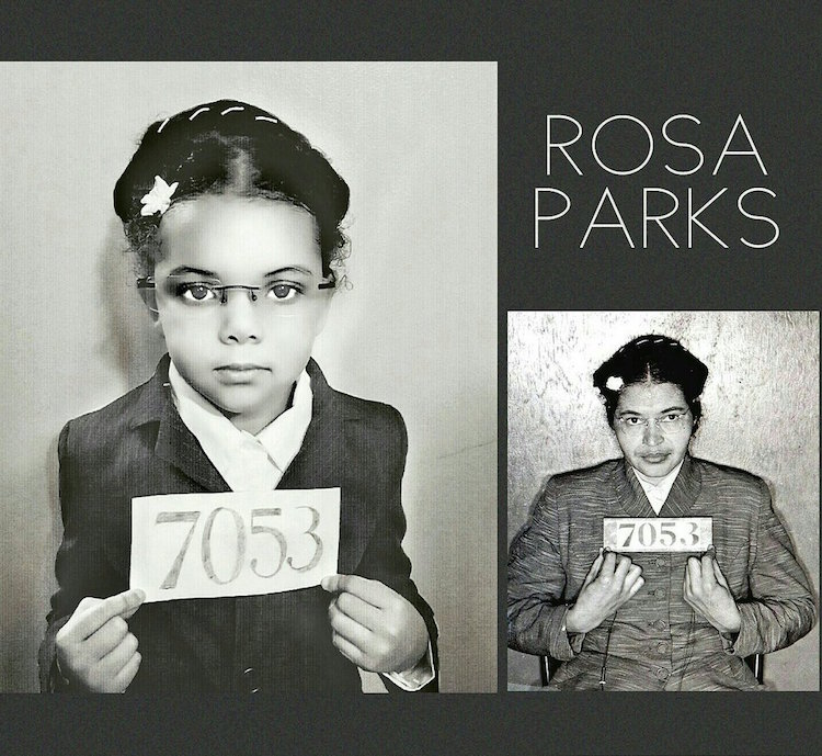 black history month photo project recreates photos of inspiring women