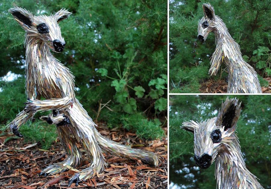 adorable animal sculptures cd art