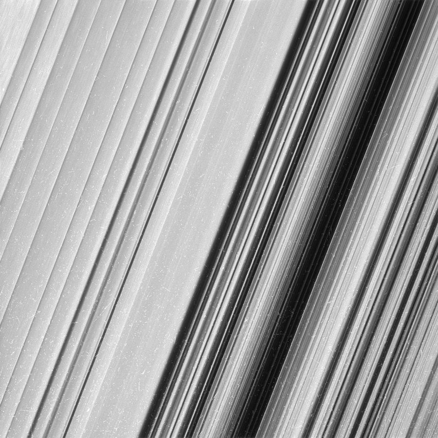 Saturn's Rings by NASA Spacecraft Cassini