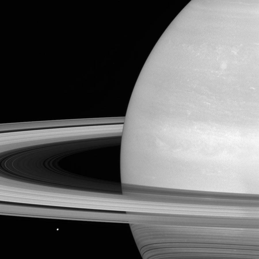 Image of Saturn by Cassini spacecraft NASA