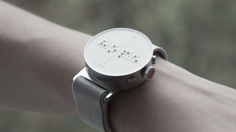 braille watch for the blind