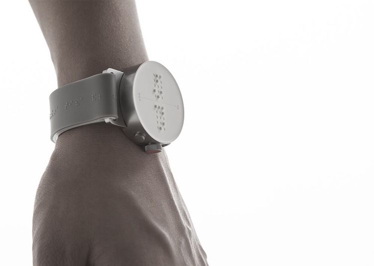 dot braille watch