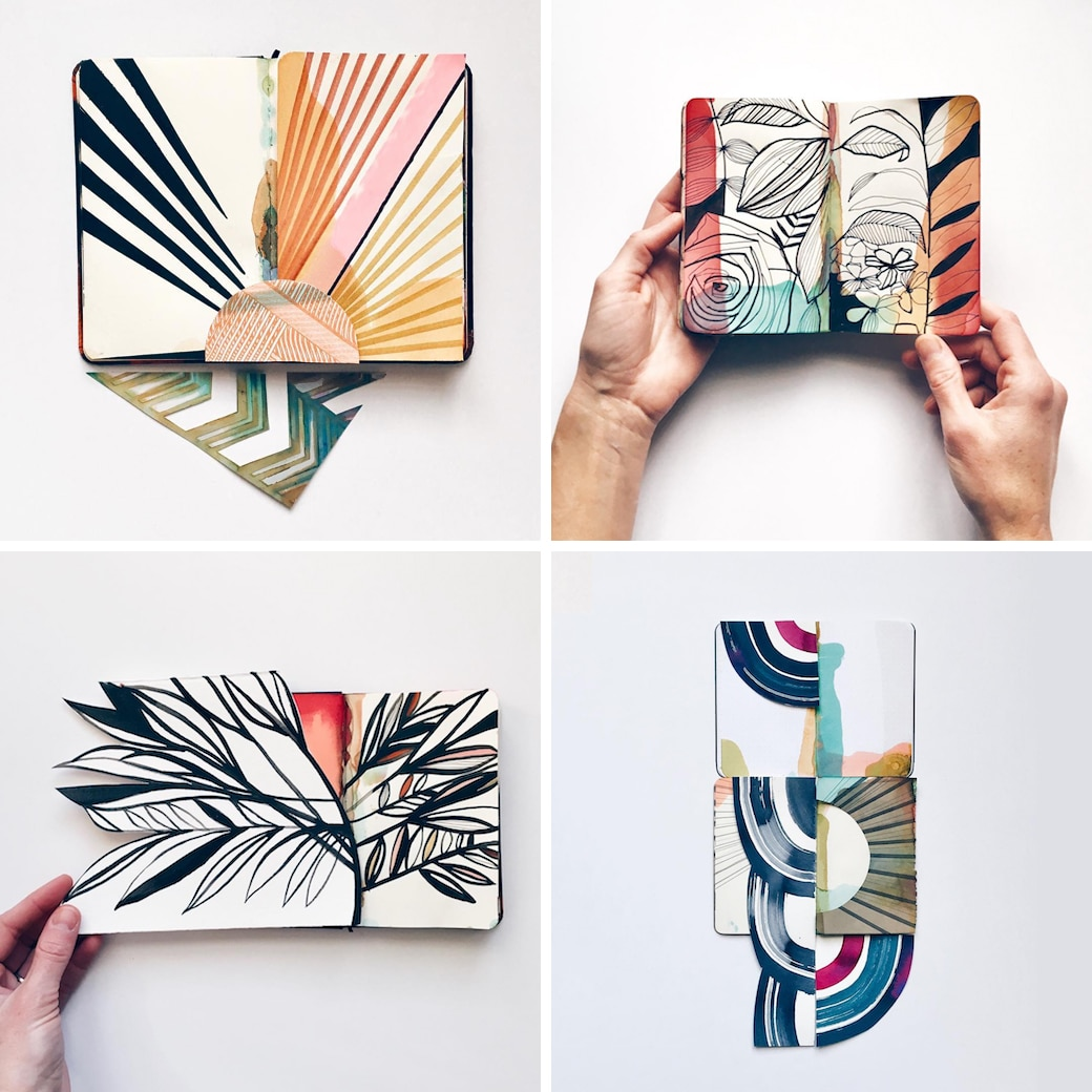 Beautiful Sketchbooks by Eva Magill Oliver