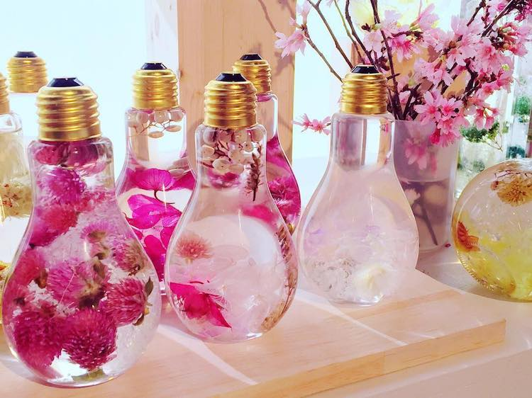 Flower Light Bulb Vase Suspends Beautiful Blooms Like Prized Jewels