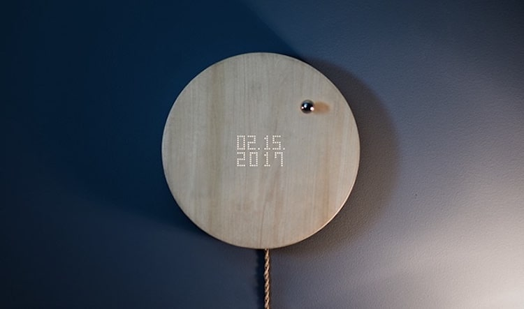story levitating timepiece floating clock flyte