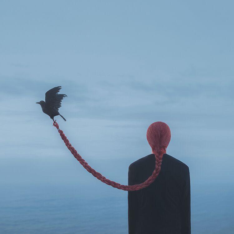 Photographer Creates Surreal Scenes Based on His Blue Journey